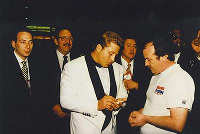 Francois Botha, Las Vegas