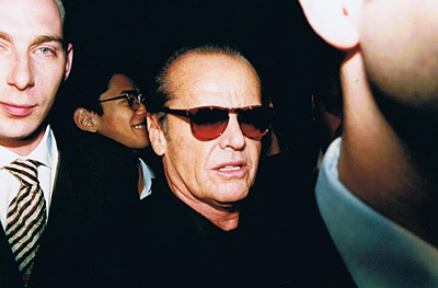 Jack Nicholson, Las Vegas