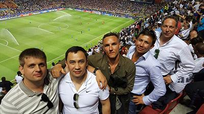 Team GGG, Mailand