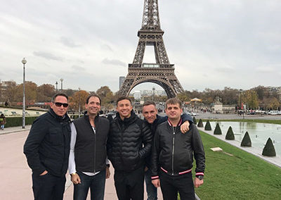 Team GGG, Paris